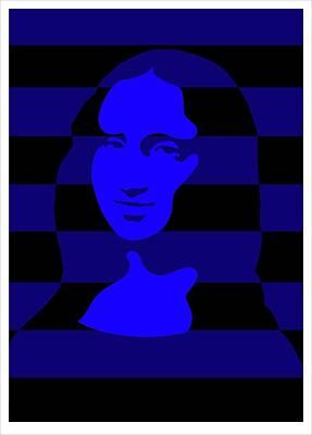 Mona Poster by Asbjorn Lonvig