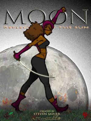 Moon  Poster by Steve Paul