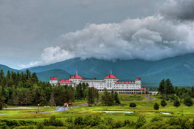 Mount Washington Hotel - Bretton Woods Nh Poster by Joann Vitali
