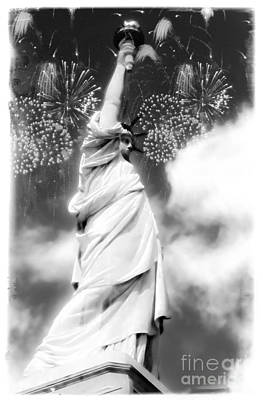 My Lady Liberty Poster by Janie Johnson