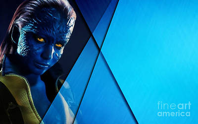 Mystique Collection Poster by Marvin Blaine