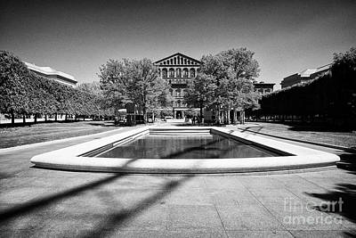 national law enforcement officers memorial judiciary square Washington DC USA Poster