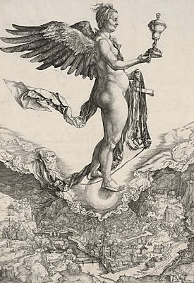 Nemesis Poster by Albrecht Durer