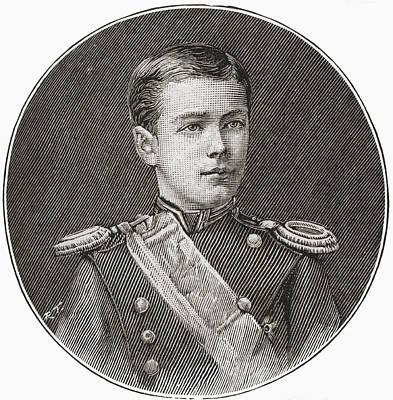 Nicholas II, 1868 Poster by Vintage Design Pics