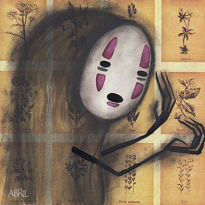 No Face Poster by Abril Andrade Griffith