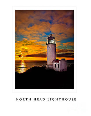 North Head Lighthouse Poster by Robert Bales