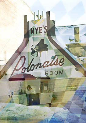 Nye's Polonaise Room Poster by Susan Stone