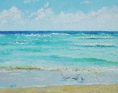 Ocean Breeze Poster by Jan Matson