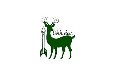 Ohh Deer Poster