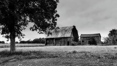 Old Hay Barn - Indiana Poster