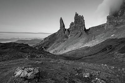 Poster featuring the photograph Old Man Of Storr by Davorin Mance