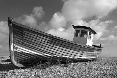 Old Wooden Fishing Boat Poster by Photimageon UK