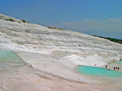 Pamukkale. Poster by Andy Za