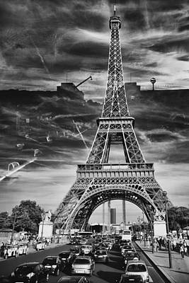Poster featuring the photograph Paris by Hayato Matsumoto