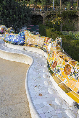 Park Guell Poster by Svetlana Sewell