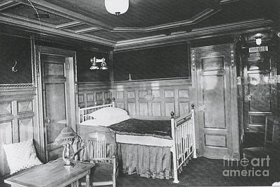 Parlour Suite Of Titanic Ship Poster