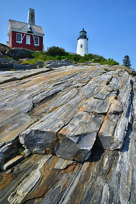 Pemaquid Lighthouse Poster by Ray Mathis
