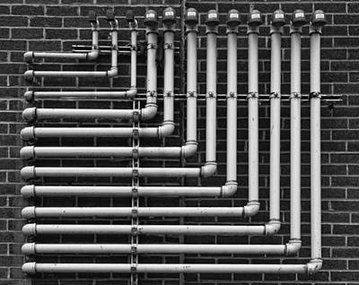 Pipes Poster by Robert Ullmann