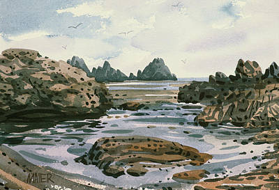 Point Lobos Poster by Donald Maier