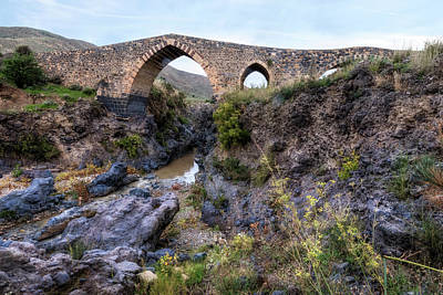 Ponte Dei Saraceni - Sicily Poster