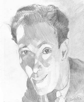 Portrait Of Neville Goddard Poster by Tim Botta