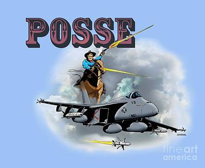 Posse Poster by Joseph Juvenal