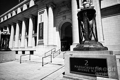 Postal Square Building Washington Dc Usa Poster