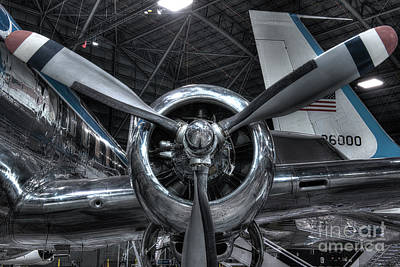 Pratt And Whitney R-2800 - Douglas Vc-118 - The Independence  Poster