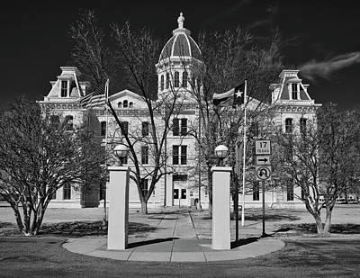 Presidio County Courthouse Poster by L O C