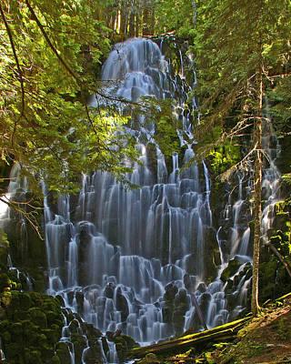 Ramona Falls Oregon Poster