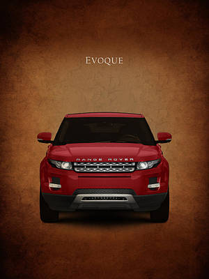 Range Rover Evoque Poster by Mark Rogan