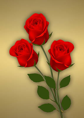Red Roses Collection Poster