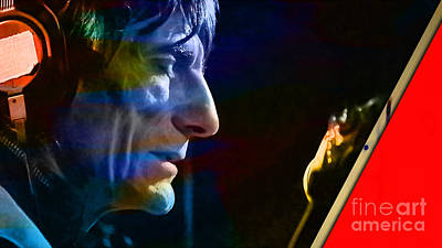 Ronnie Wood Collection Poster by Marvin Blaine