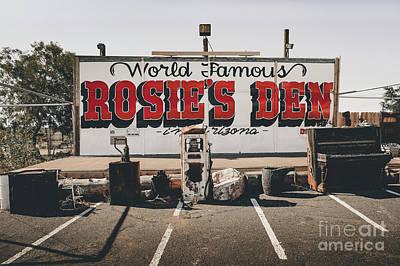 Rosies Den Cafe  Poster