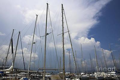 Saint-tropez, Yacht Club And Marina  Poster by Oren Shalev