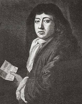 Samuel Pepys, 1633 To 1703. English Poster by Vintage Design Pics