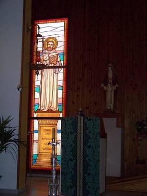 San Bernardo Abad Poster