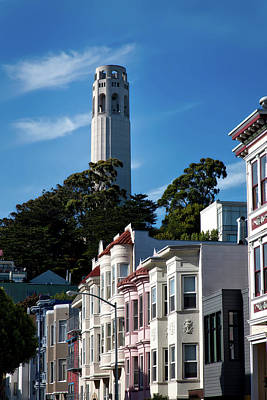 San Francisco's Coit Tower Poster by Mountain Dreams