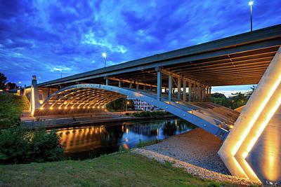 Seekonk River Bridge Poster