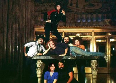 Sgt. Pepper's Cast Members Poster by Howard Dando