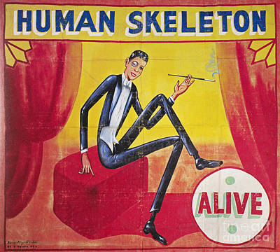 Sideshow Poster, C1965 Poster by Granger