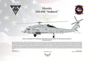 Sikorsky Mh-60r Seahawk Poster
