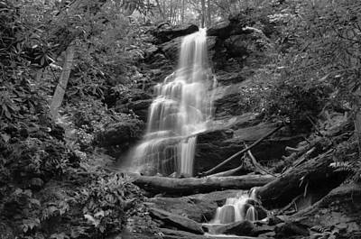 Silverspray Falls Poster by Stephen  Vecchiotti
