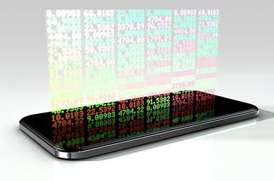 Smart Phone Stock App Poster