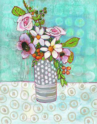 Sophia Daisy Flowers Poster