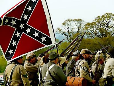 Southern Infantry Poster