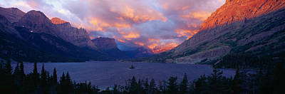 St. Mary Lake, Glacier National Park Poster by Panoramic Images