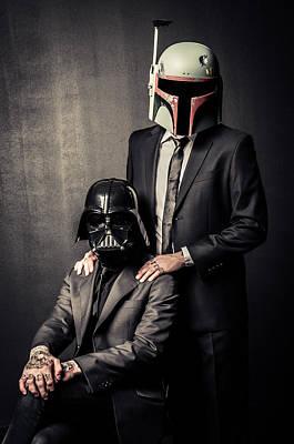 Star Wars Dressman Poster by Marino Flovent
