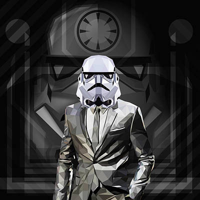 Star Wars Stormtrooper Poster by Gallini Design
