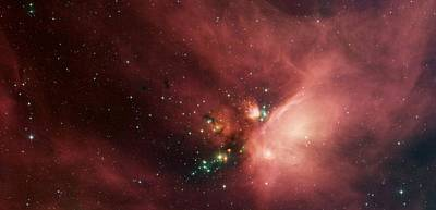 Stars In The Rho Ophiuchi Cloud Complex Poster